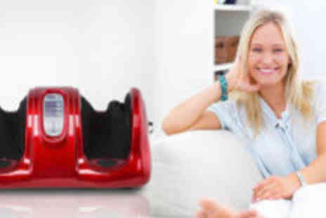 World of Beauty - Electronic Foot Massager Machine  - Save 60%