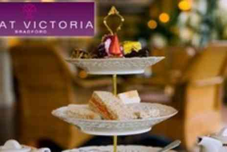 Great Victoria Hotel - Afternoon Tea For Two With Tea or Coffee, Scones, Cakes, Pastries and Sandwiches - Save 61%