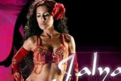 Jalya Belly Dancer - Five Sessions of Belly Dancing and Hula Hooping - Save 77%