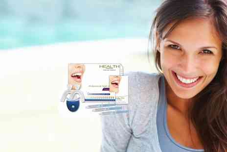 Health Cocoon - Peroxide Free Teeth Whitening Kit - Save 47%