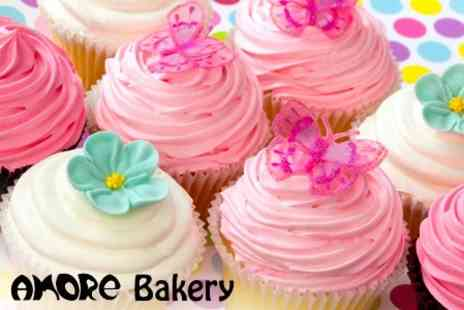 Amore Bakery - 2.5 Hour Cupcake Decorating Class For One - Save 50%