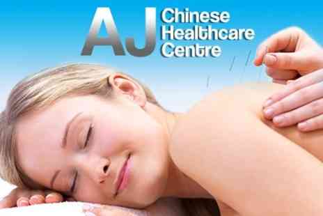 AJ Chinese Healthcare Centre - 45 Minute Tui Na Massage - Save 60%