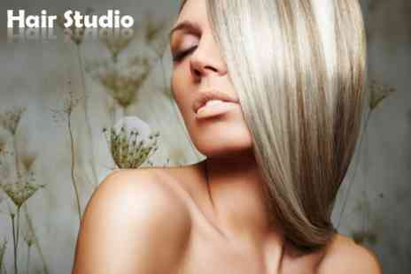 The Hair Studio - Cut and Blow Dry - Save 55%