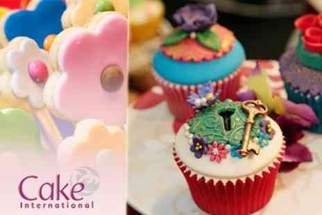 Cake International - Half Day Entry For One - Save 50%