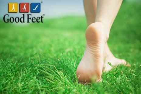Good Feet - Podiatry Assessment, Digital Pressure Plate Analysis, and Foot Moisturising Treatment - Save 84%
