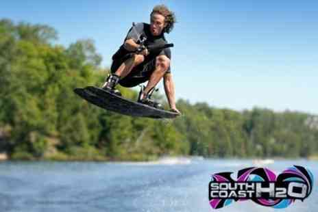 South Coast H2O - Wakeboarding One Hour Taster Session - Save 60%