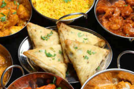 Cafe Sekander Indian Restaurant - Three Course Indian Meal for Two with Wine - Save 55%