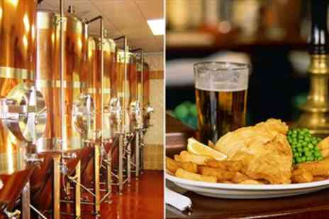 The Great Yorkshire Brewery - Brewery Tour including Tastings & Pub Lunch for 2 - Save 52%