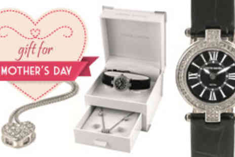 Brand Arena - Pierre Cardin watch, necklace and earring set in choice of styles - Save 60%