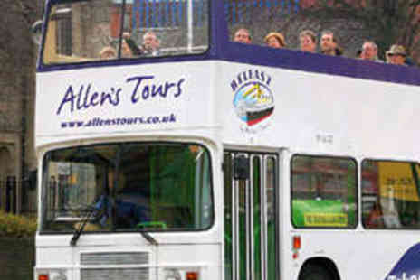 Allens Tours - Hop-On, Hop-Off Bus Tour of Belfast for Two - Save 50%