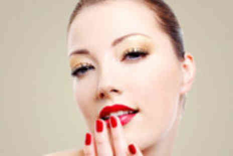 Pampered & Lovin it - Hollywood lashes and Shellac Nails - Save 73%