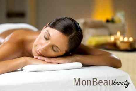 Monbeau Beauty - Aromatherapy Massage - Save 75%
