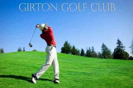 Girton Golf Club - 18 Holes For Two - Save 55%