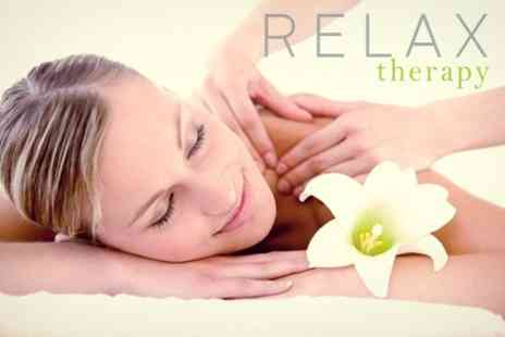 Relax therapy - Choice of One Hour Massage Including Hot Stone or Deep Tissue Massage - Save 58%