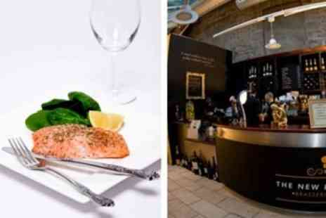 The New Exchange Brasserie - Two Course Modern British Meal For Two - Save 58%