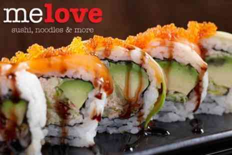 Me Love Sushi - Japanese Fare Food and Drink - Save 50%