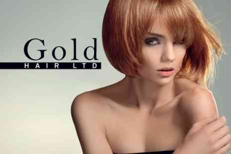 Gold Hair - Cut, Conditioning Treatment and Blow Dry - Save 38%