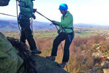 Alfresco Adventures - Beginners Rock Climbing and Abseiling Session - Save 50%