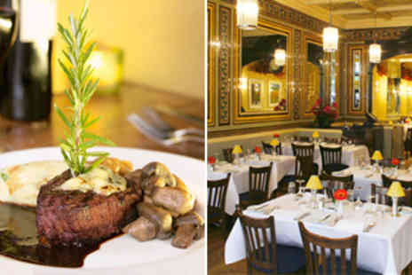 Rowleys - Chateaubriand Dinner for 2 & Bottle of Wine - Save 52%
