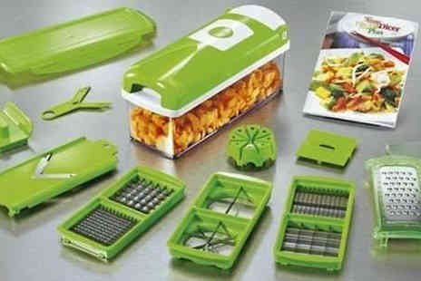 Pandacheer - Make cooking time faster & more efficient with this Super Slicer and Dicer - Save 40%