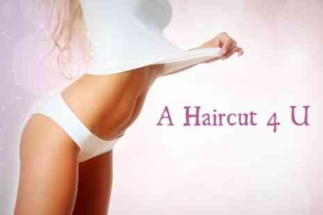 A Haircut 4 U - 30 Vibration Plate Sessions - Save 50%