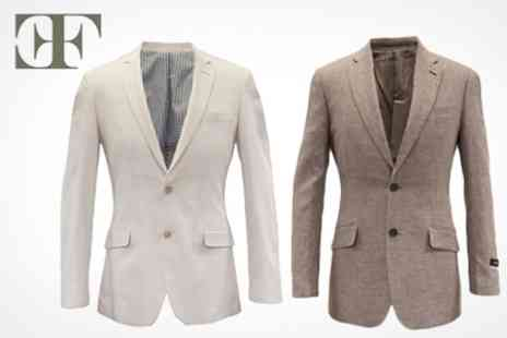 Frencheye - Cotton and Linen Blazers in Choice of Colours - Save 75%
