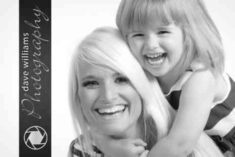 Dave Williams Photography - Mother and Daughter or Family Photoshoot With Prints - Save 92%