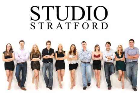Studio Stratford - Family Photoshoot With Eight Prints - Save 96%