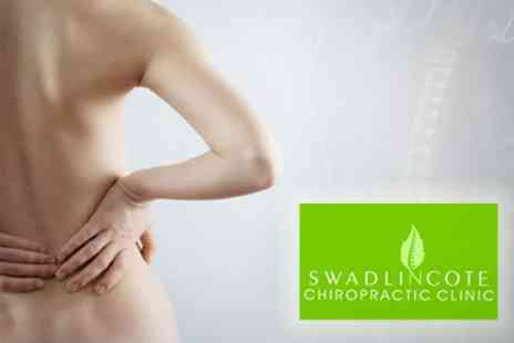 Swadlincote Chiropractic Clinic - Examination, Massage and Initial Treatment - Save 71%