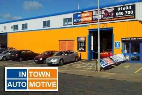 In Town Automotive - Full MOT With Valet Service - Save 74%