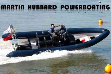 Martin Hubbard Powerboating - Full Day Level 1 RYA Course - Save 60%