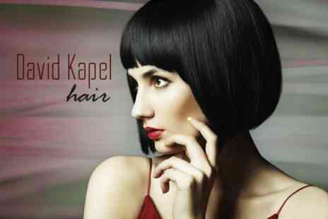 David Kapel Hair - Haircut and Choice of Straightening Treatment - Save 76%