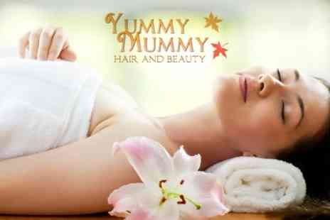 Yummy Mummy Hair - 75 Minute Full Body Massage and Suki Facial - Save 64%