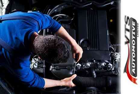 VTS Automotive - 54 Point Car Service With Oil and Filter Change Plus Full Diagnostic Check - Save 50%