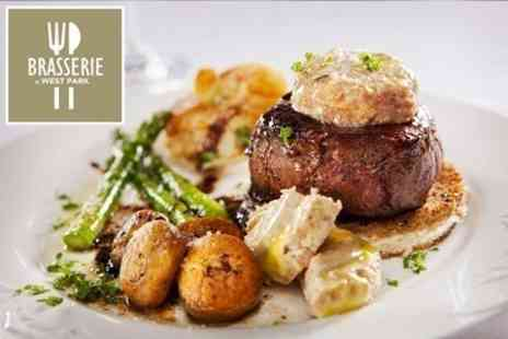 Brasserie at West Park - Food For Two - Save 60%
