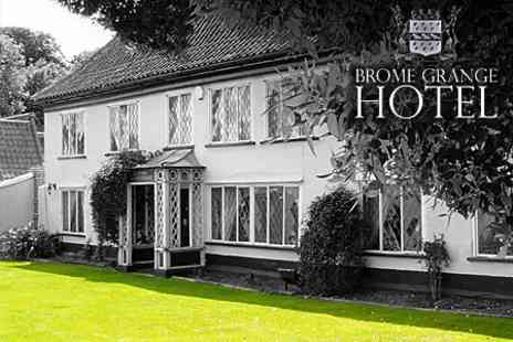 Brome Grange Hotel - One Night Stay For Two With Breakfast and Prosecco - Save 51%