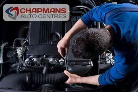 Chapmans of Leicester - Car Service With Oil and Filter Change, Exterior Wash and Leather Clean Plus MOT - Save 83%