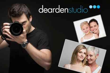 Dearden Studio - Mother and Daughter Photoshoot With Makeover, Framed Print and Chocolates - Save 93%