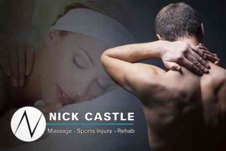 Nick Castle Sports Massage - One Hour Deep Tissue Sports Massage - Save 58%