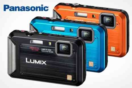 Hanaco - Panasonic DMC FT20 Waterproof 16.1MP Digital Camera - Save 32%