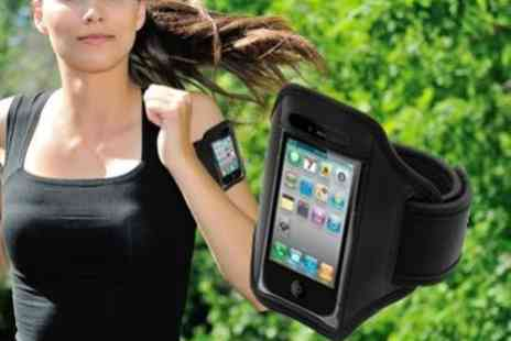 SVB Shops BV - An essential iPhone 4S/5 Sports Armband - Save 77%