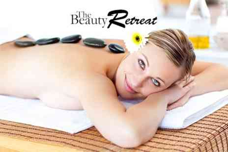 The Beauty Retreat - Rose Quartz Facial With Hot Stone Massage Plus Hand Mask For One - Save 63%