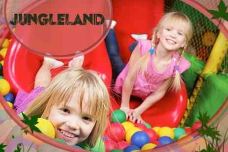 Jungleland - Jungleland Play Centre Entry For Two Kids and Adults - Save 61%