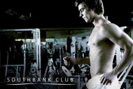 Southbank Club - Ten Gym Day Passes - Save 63%