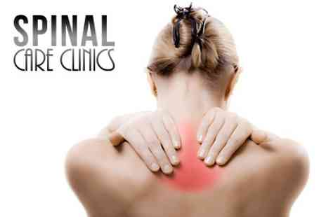 Spinal Care Clinics - Chiropractic Three Sessions Plus Consultation and Spinal Scan - Save 85%