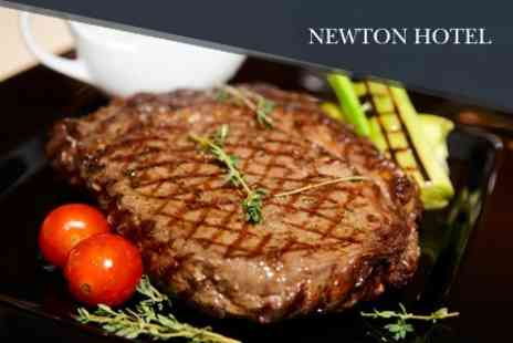 The Newton Hotel - Two Course Modern European Meal For Two - Save 58%