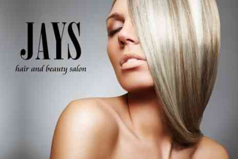 Jays Hair and Beauty - Half Head of Highlights With Restyle and Finish Plus Conditioning Treatment - Save 72%