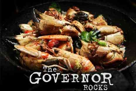 The Governor Rocks - Two Course Meal For Two - Save 54%