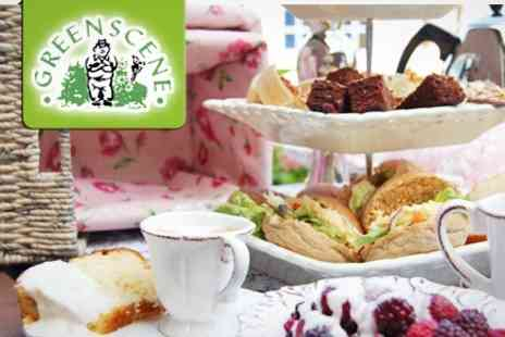 Greenscene Side Farm - Afternoon Tea For Two - Save 66%