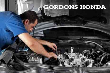 Gordons Honda - 50 Point Car Service Including Oil and Filter Change - Save 65%